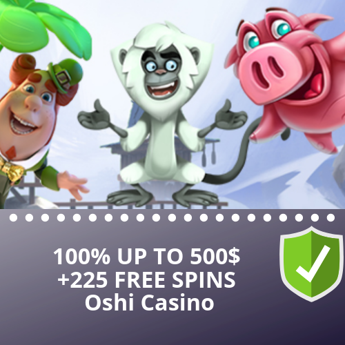 OSHI CASINO FROM SOFTSWISS
